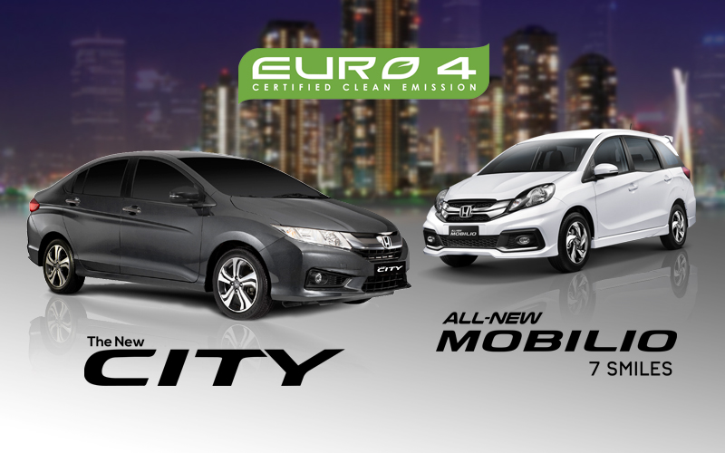 Honda City and Honda Mobilio