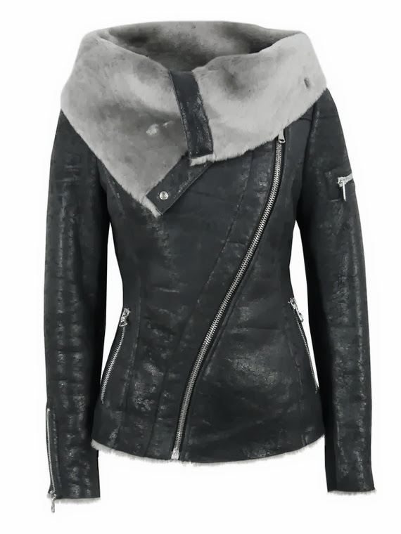 Amazing Leather Black Jacket for Fall and Winter