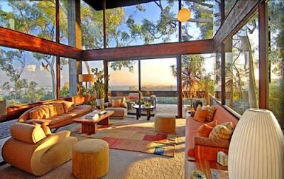 Interior Design Of Mid Century Contemporary Home In Canna