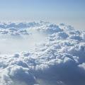 雲海,上空飛行機より〈著作権フリー無料画像〉Free Stock Photos