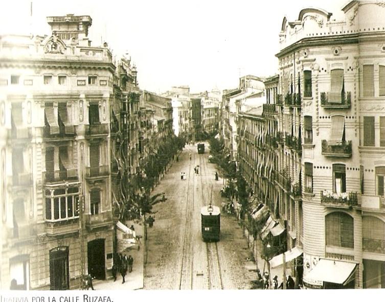 Los tranvias en valencia valencia historia grafica - Calle torrente valencia ...