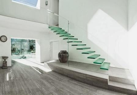Glass Staircase, Floating Stairs
