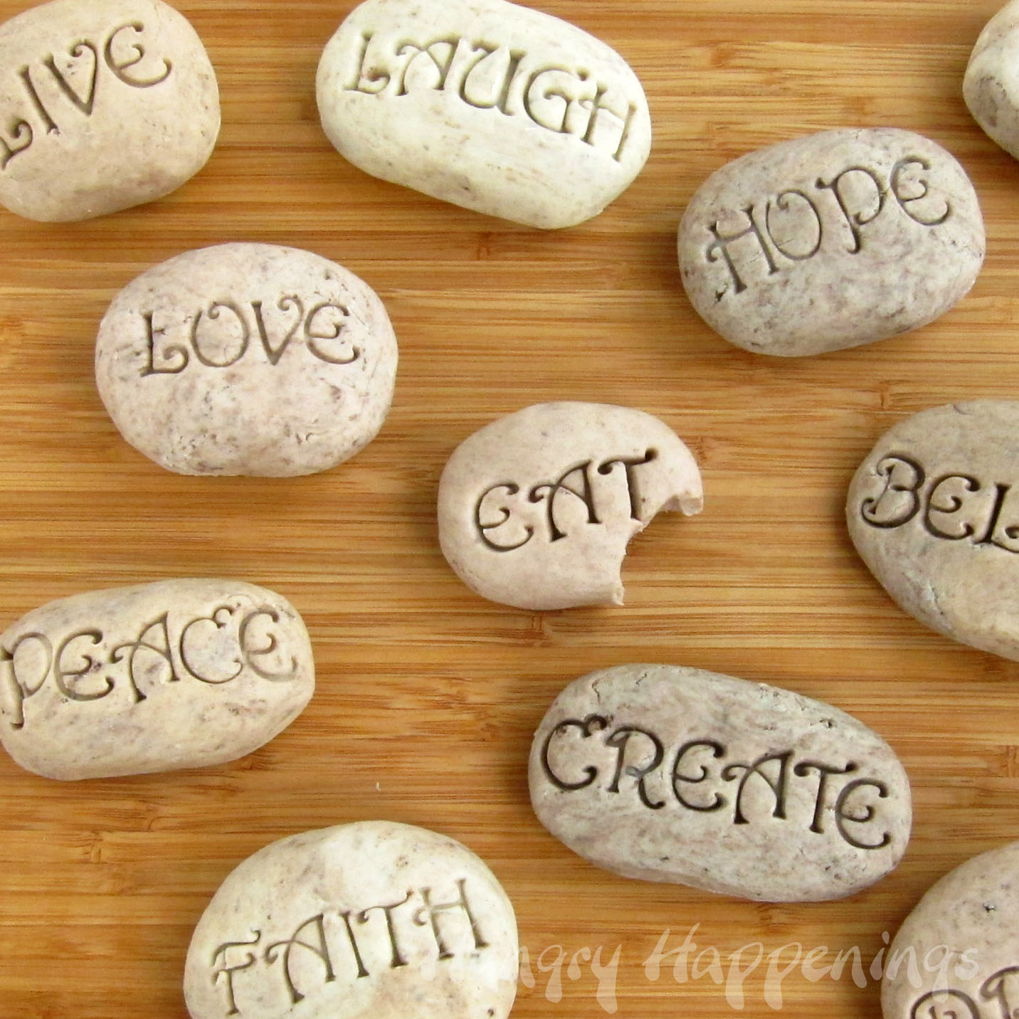Sweet serenity stones hungry happenings recipes for Crafts using stones