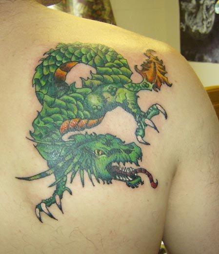 Tattoo Symbolism Dragon Tattoo Symbolism