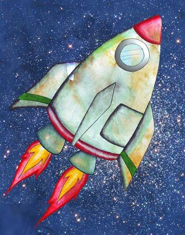 El astronauta | Letra A | Actividades y materiales