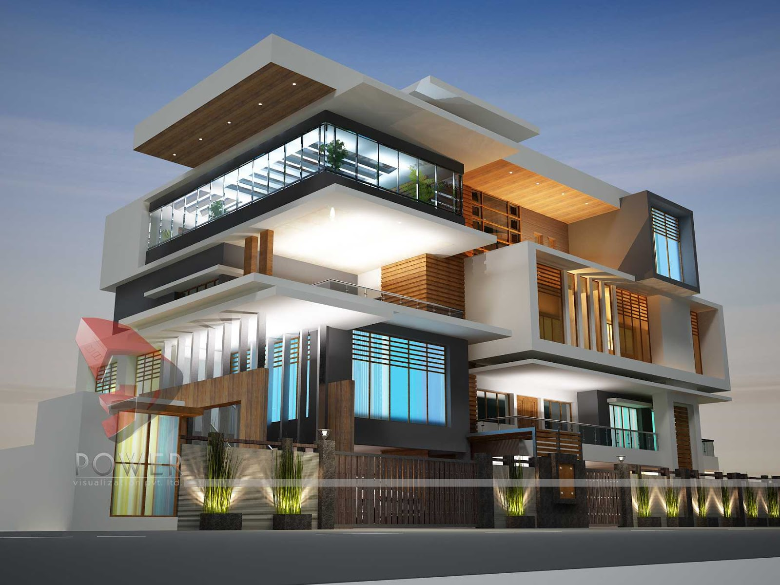 Ultra modern architecture Home design architecture 3d