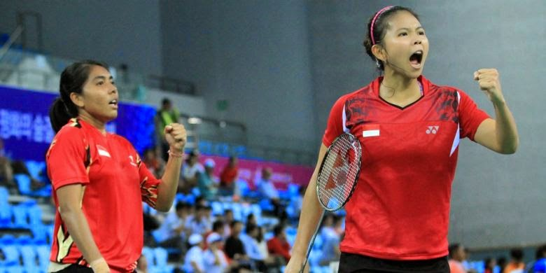 Hasil Asian Games 2014: Nitya Krishinda Maheswari Dan Greysia Polii Raih Medali Emas