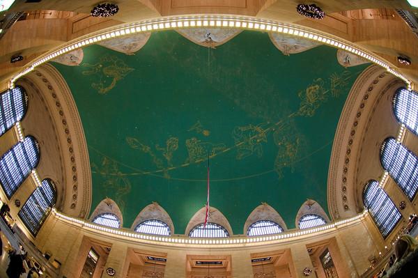 soffito Grand central station, la stazione di New York