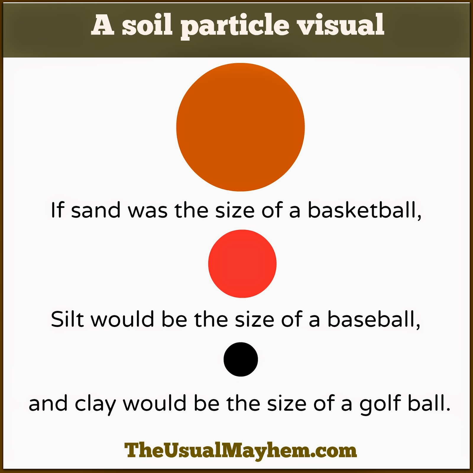 soil particles visual image