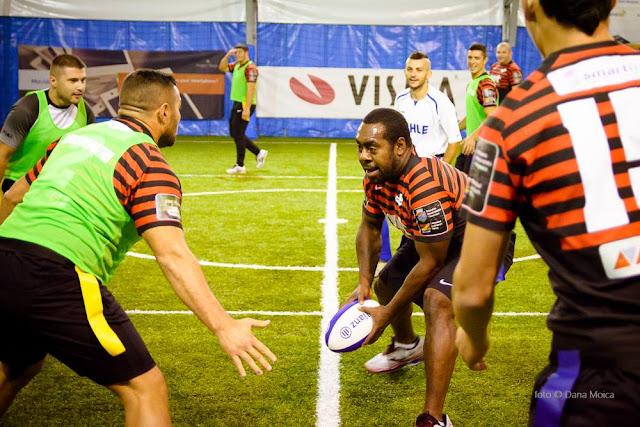 Florin Chindea, maseur oficial al turneului caritabil de fotbal - Împreună susţinem Hidroterapia. 18 octombrie 2015. Timişoara Saracens Rugby