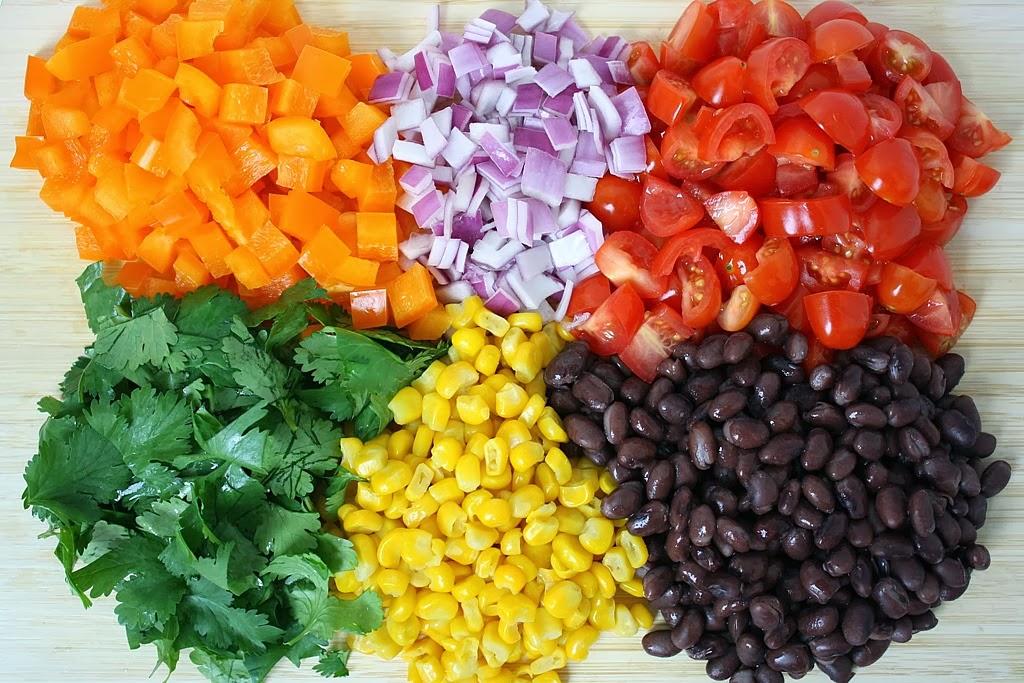 The Garden Grazer: Southwestern Black Bean Salad with Citrus Dressing