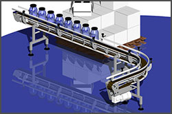 NeXtgen Table Top Sanitary Conveyor Ideal For Pharmaceutical Lines