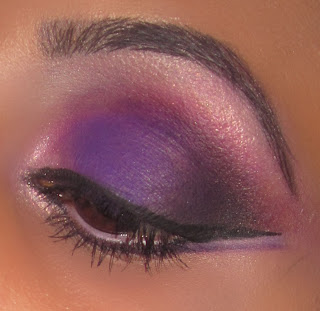 pink, purple, eyeshadow, mac, blog, makeup, beauty, shez, color, smokey