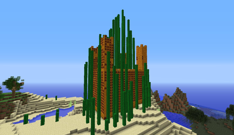 Minecraft Pumpkin Palace