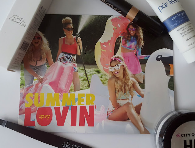 "Beauty Buzz Trial - Ipsy Bag July 2015 ""Summer Lovin"""