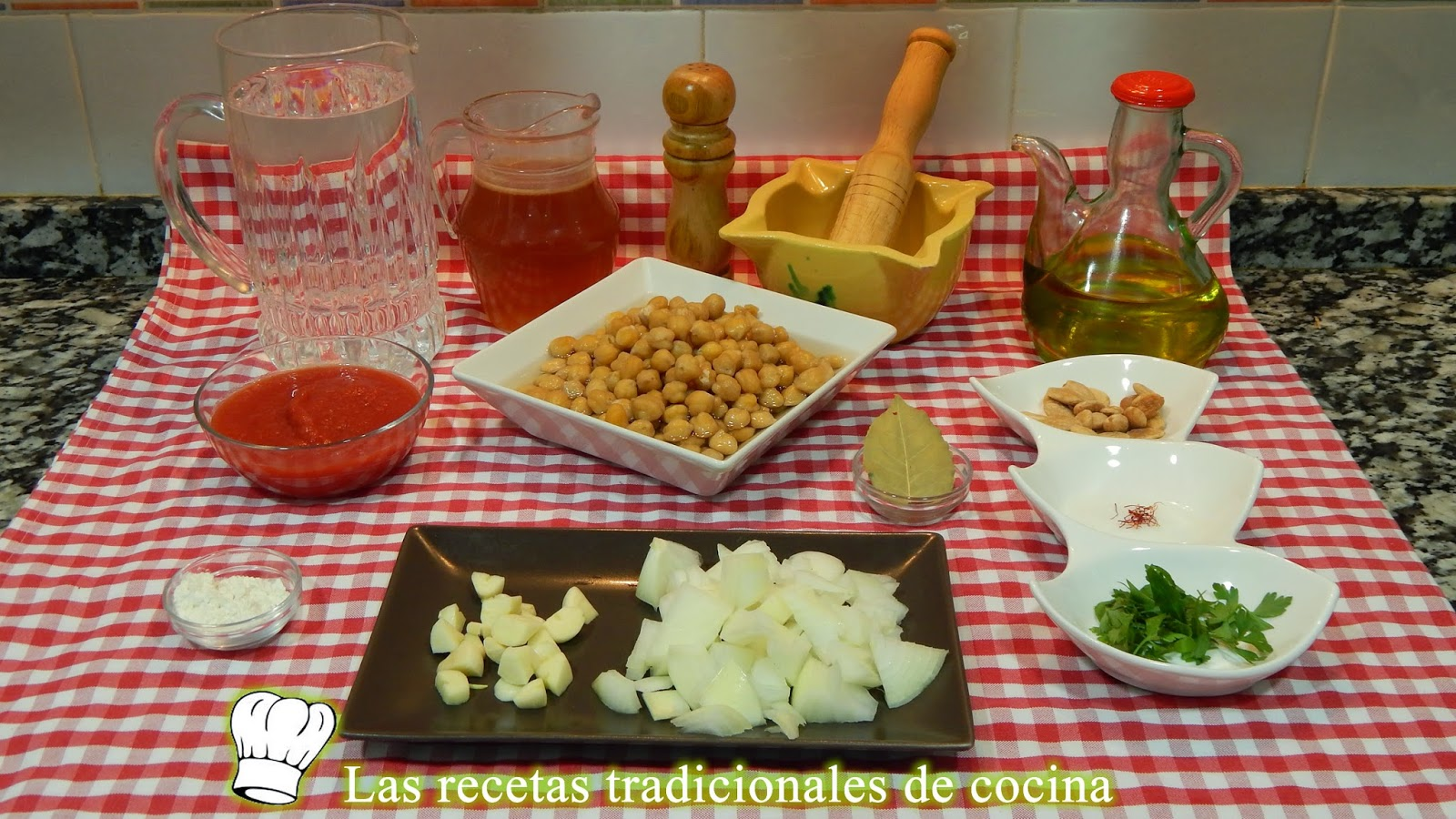 Receta de garbanzos a la Catalana
