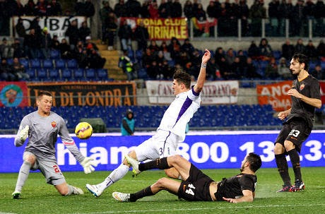 Copa Italia : AS Roma 0-2 Fiorentina