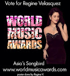 Vote Regine Velasquez in the WORLD MUSIC AWARDS!
