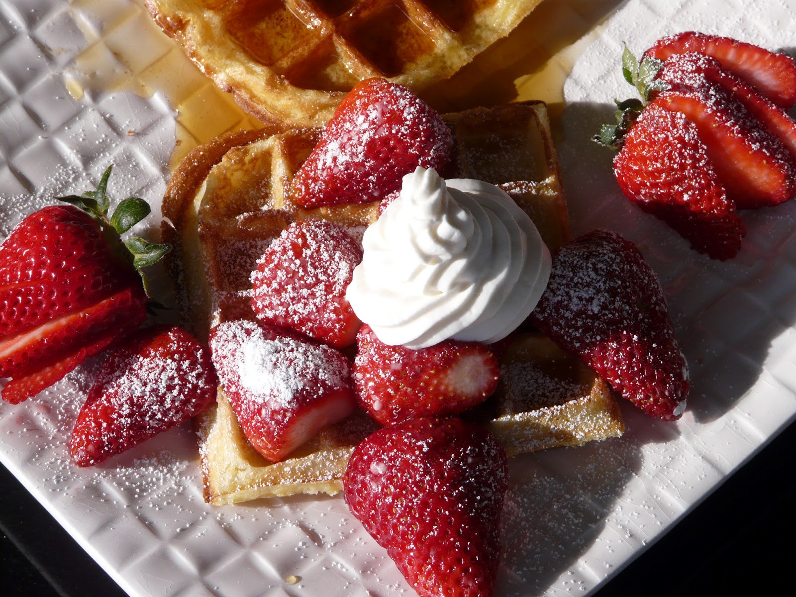 Thibeault's Table: Waffles Two Ways - New Waffle Maker