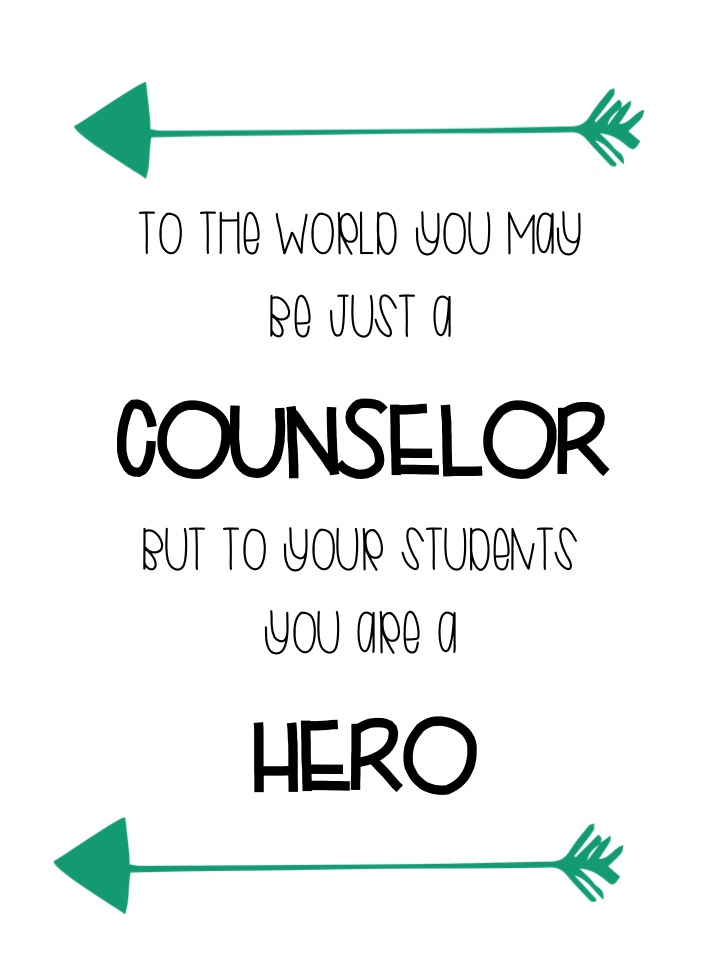The Stylish School Counselor: School Counseling Week 2016