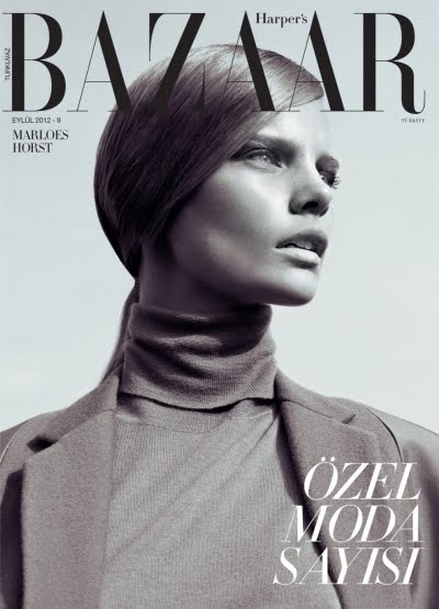 harper's bazaar turkey september 2012 cover