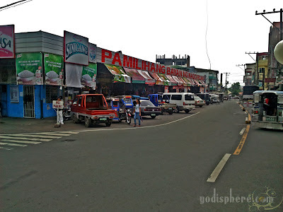 View of the Nagcarlan Public Market in Laguna Philippines