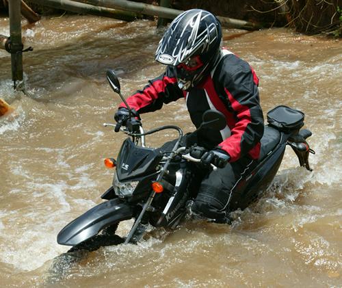 Modifikasi motor  Kawasaki KLX 150 Special Adventure