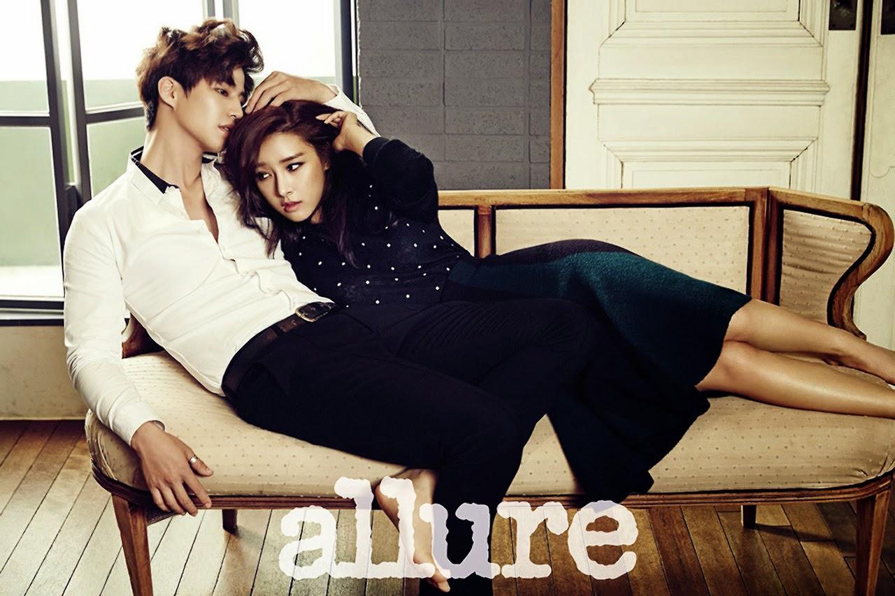 Kim So Eun and Song Jae Rim - Allure Magazine December Issue 2014
