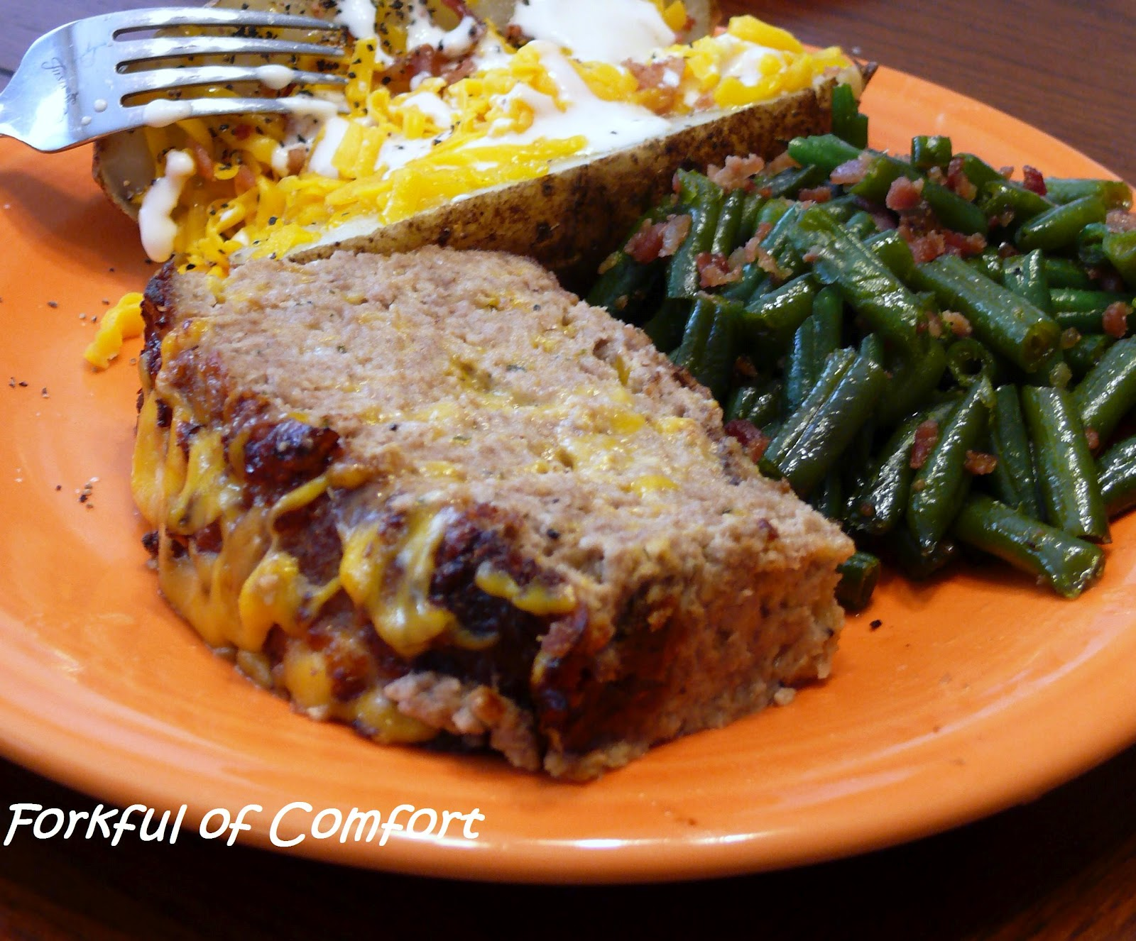 Turkey Meatloaf With Fennel And Bacon Recipe — Dishmaps