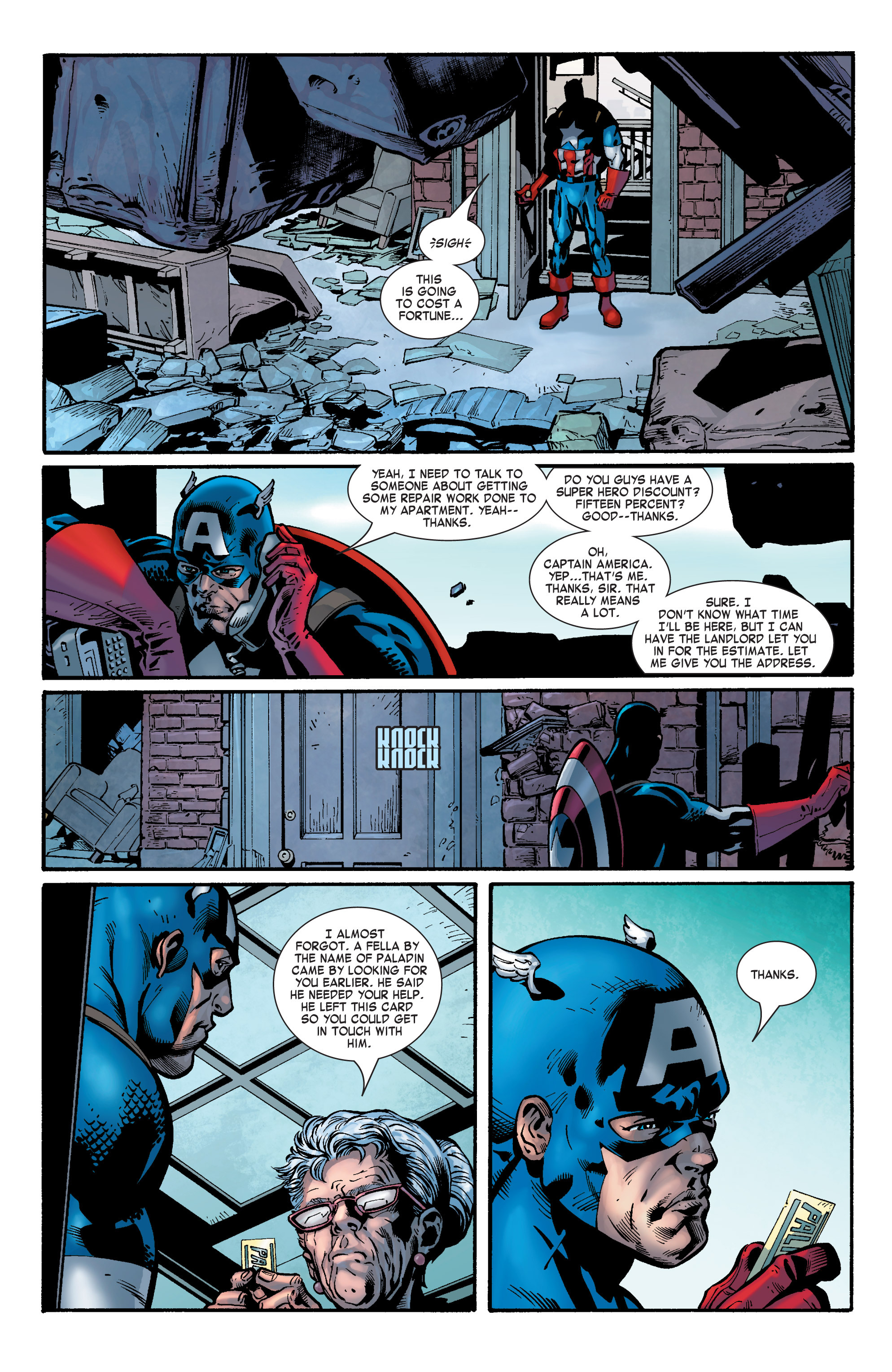 Captain America (2002) Issue #31 #32 - English 19