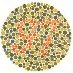 Prueba de daltonismo - Carta de Ishihara 12