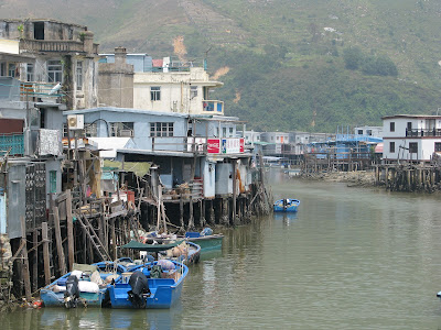 Fishermen houses on the Lantau Island