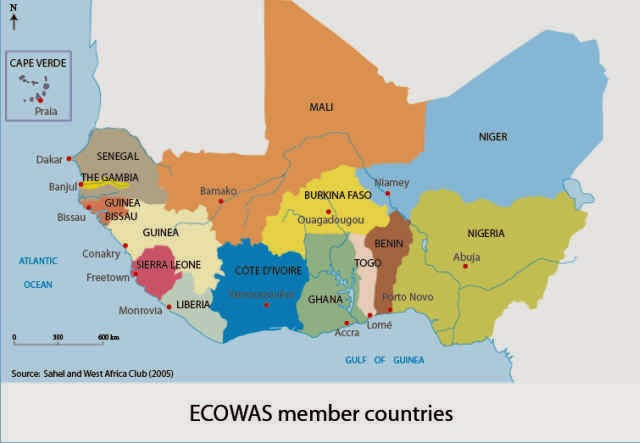 ECOWAS Sets 2020 For Use of Single Currency