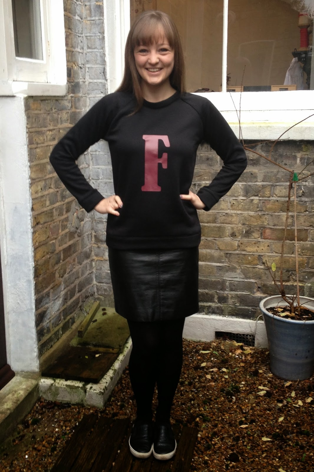 Diary of a Chain Stitcher: Quilted and Monogrammed White Russian Sweatshirts from Capital Chic