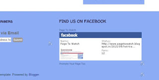 How to share Facebook page on your blog