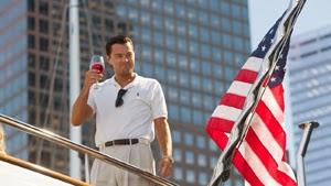 Leonardo DiCaprio en El lobo de Wall Street