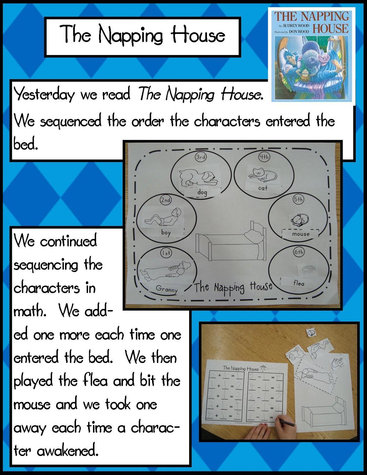 the napping house preschool activities golden kindergarten the napping house 371