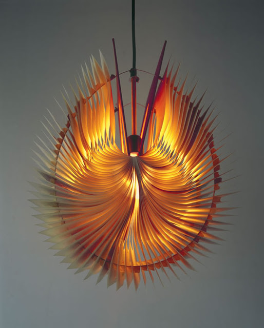 Both designs are made in a way that even when the lights are switched off  these lamps are real eye catchers. You can purchase this incredible piece  of work ...
