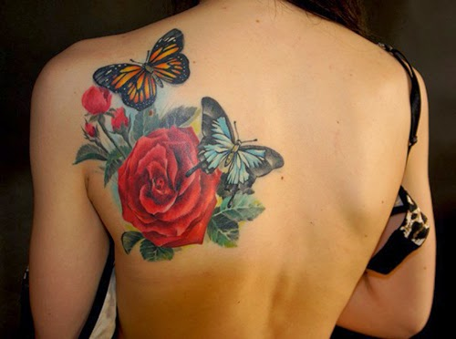 Imagenes De Rosas Para Tatuar - Tatuajes de rosas para mujeres