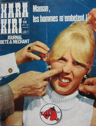 Bizarra Revista Francesa de los 60