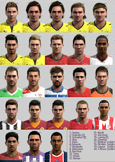PES 2013 Mega Facepack by ilhan