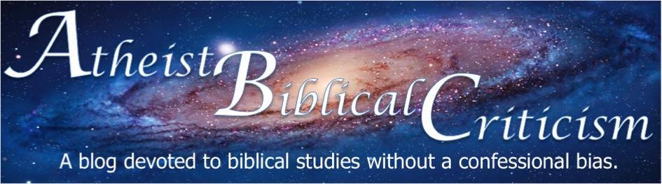 Atheist Biblical Criticism