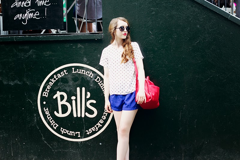 fashion blogger bills hoxton review