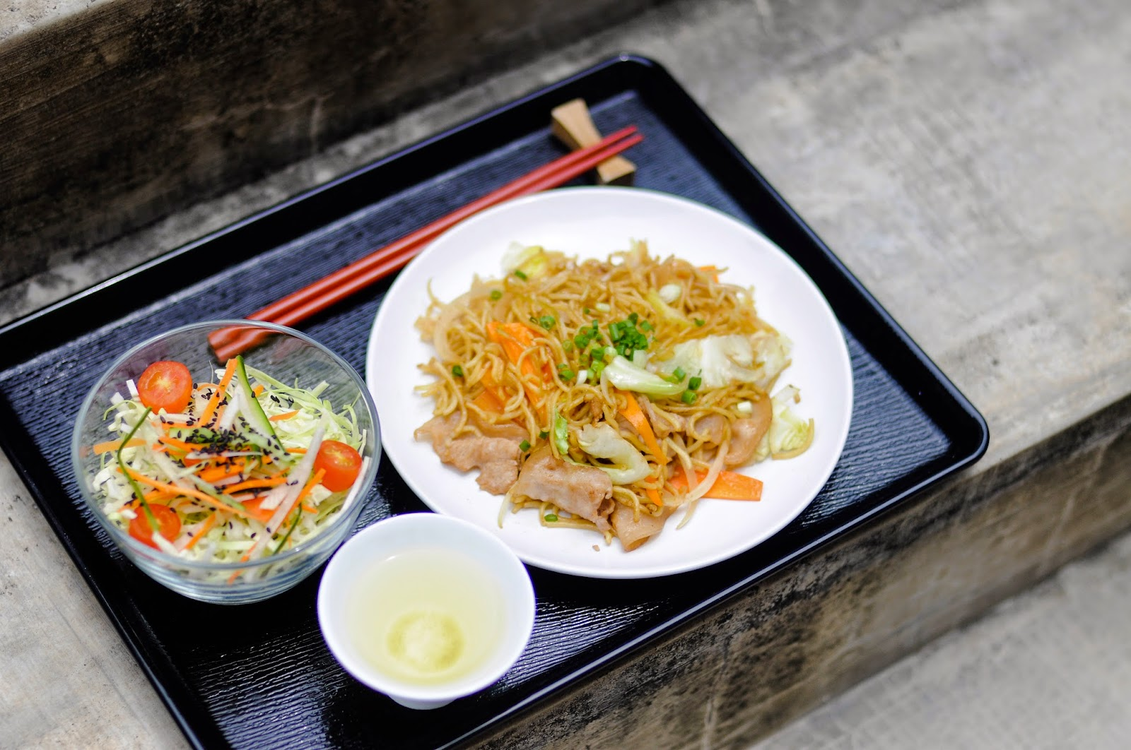 IPPIN CAFE BAR Yakisoba Set