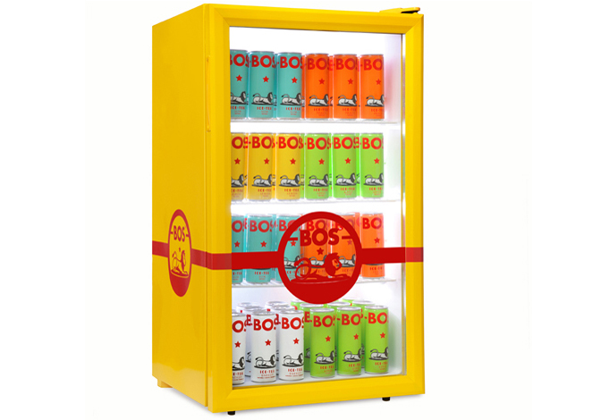 Bos Ice Tea packaging design