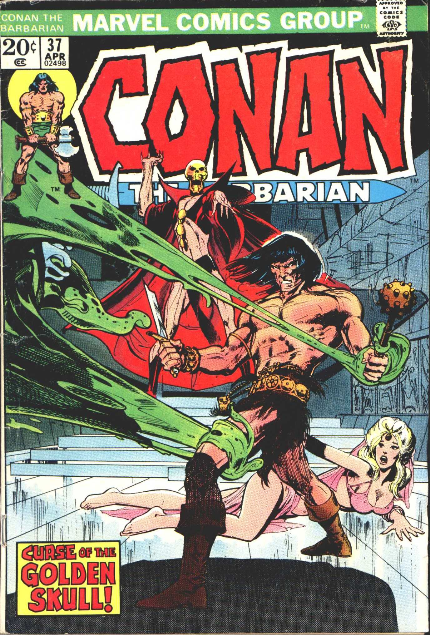 Conan the Barbarian (1970) 37 Page 1