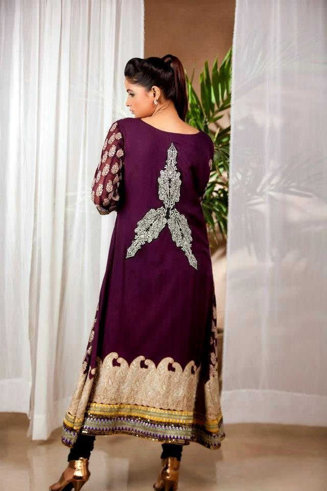 Pure Chiffon Dresses 2013 For Winter By Pure Line Pure Line Winter