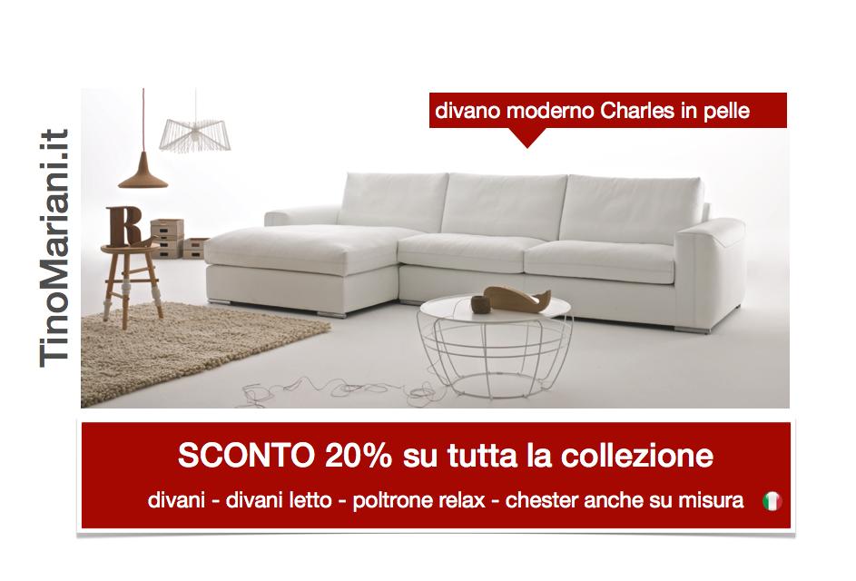 Divani blog tino mariani promozione vendita divani for Vendita online divani