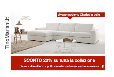 Promozione vendita divani | Tino Mariani
