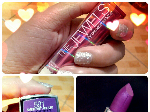 Review: Maybelline's The Jewels by ColorSensational in Amethyst Ablaze